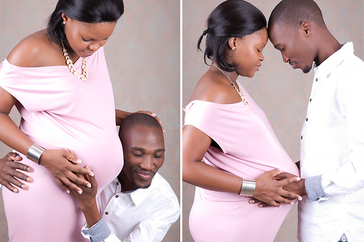 Pregnancy shoot in Studio, Nelspruit